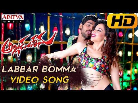 Labbar Bomma Full Video Song - Alludu Seenu Video Songs- Sai Srinivas,Samantha