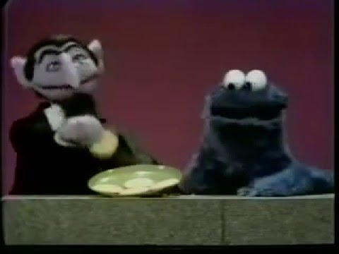Sesame Street | The Count Meets Cookie Monster - YouTube