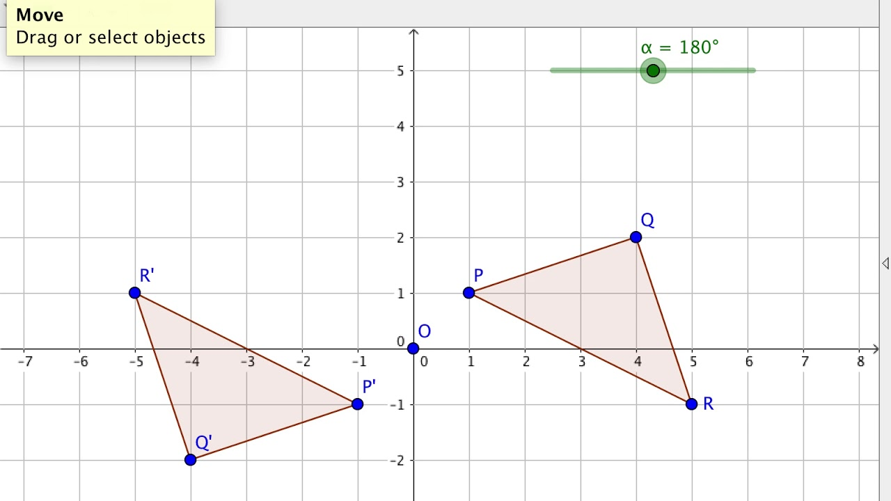 GeoGebra Tutorial 9 - Rotating Triangles