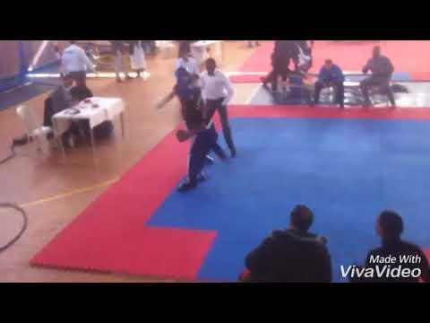Ibrahim elaaboune vs ayoub battal 63kg round2 round3  light contact