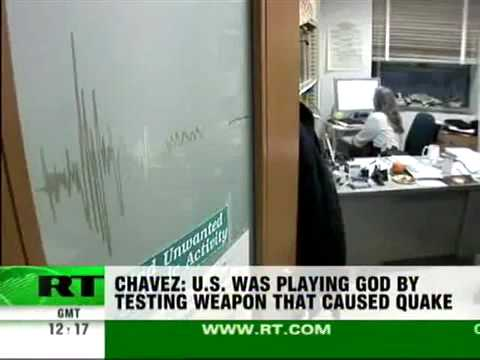 Hugo Chavez: Haiti Earthquake Caused by U.S. Tectonic Weapon Test
