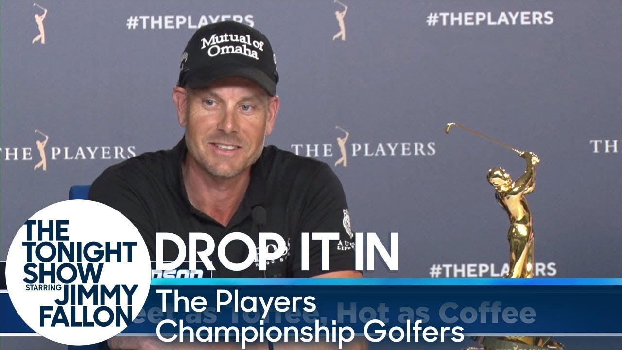 Jimmy Had PGA Tour Golfers Secretly Slip Funny Words into Their All-Star Interviews