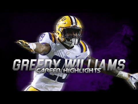 Best CB in the  NFL Draft - Greedy Williams LSU Highlights ᴴᴰ