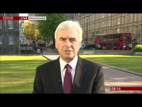 John McDonnell (Labour) morning news compilation, 19 Apr 2017