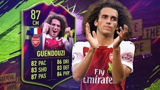 FIFA 19 Future Star Guendouzi Review (87) Future Star Guendouzi Player Review | FIFA 19 Future Stars