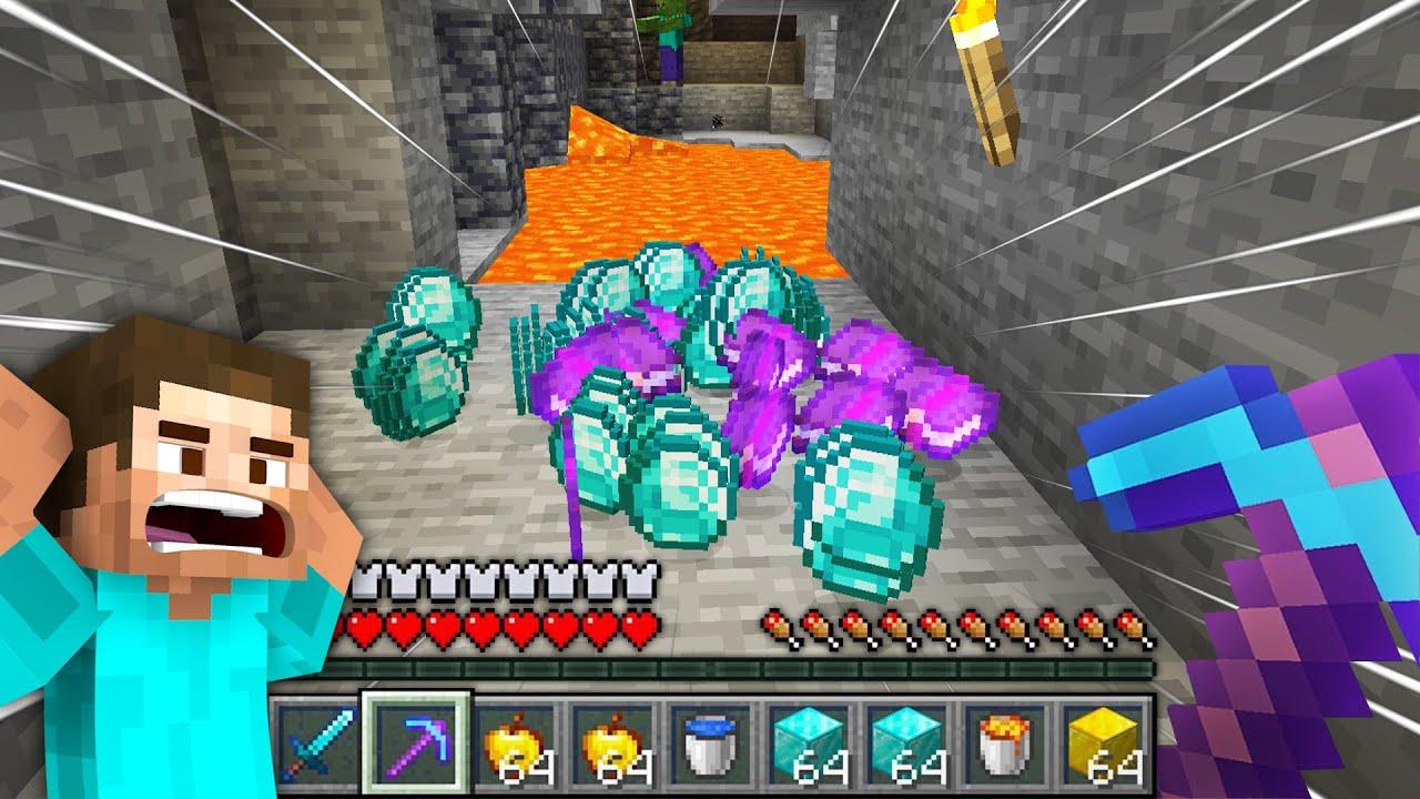 Found LOTS OF EPIC DIAMONDS In Minecraft!   Minecraft Gameplay #15