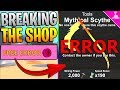 HOW TO BREAK THE SHOP IN ROBLOX MINING SIMULATOR SECRET! *INSANE!*