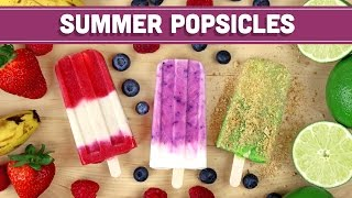 Homemade Summer Popsicles: 3 Ways! Mind Over Munch