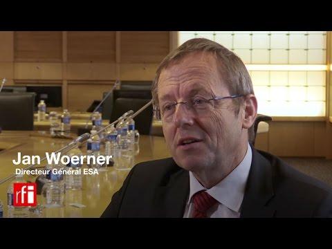 Jan Woerner, Directeur Général de l'ESA