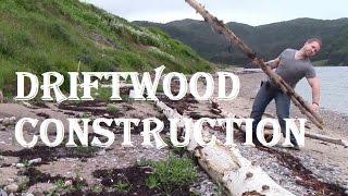 Newfoundland Bushcraft - Gros Morne Beach Time (building Camp Chair)