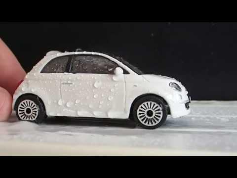 Toy Car Wash Fiat 500 Youtube