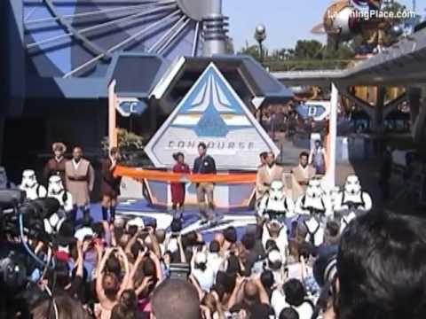 Disneyland Star Tours Grand Opening Ceremony