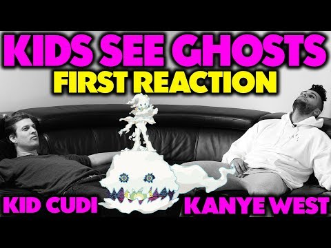 KANYE WEST & KID CUDI - KIDS SEE GHOSTS REACTION/REVIEW (Jungle Beats)
