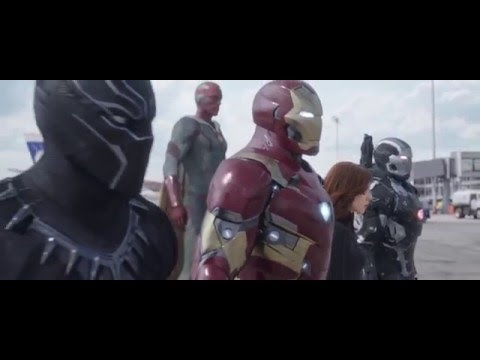 Captain America: Civil War - Superbowl Commercial - 720p HD