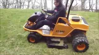 psd groundscare as motor as 940 sherpa fitted with 48 cutting deck and twin wheels