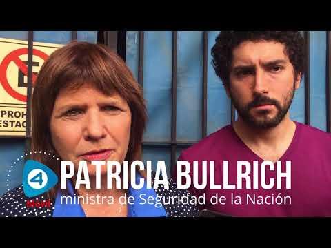 """Patricia Bullrich en Florencio Varela sobre el tarifazo: """"Recibimos algún tirón de orejas"""""""