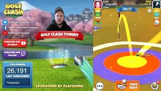 Golf Clash tips, Playthrough, Hole 1-9 - PRO - TOURNAMENT WIND! Festive Cup Tournament!