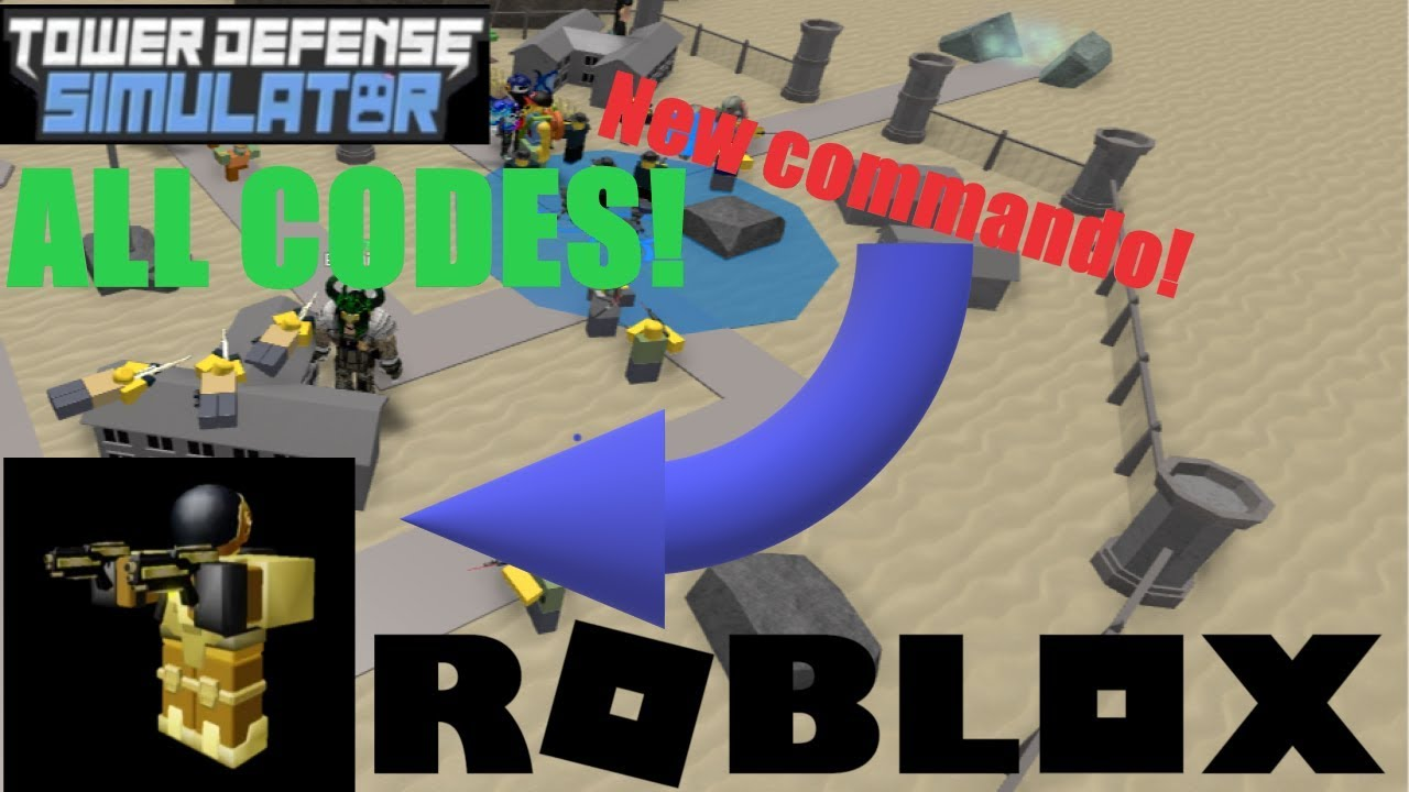 Tower Defense Simulator:How to get New commando And ALL CODES!!! AREA 51  UPDATE!