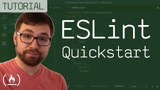 ESLint Quickstart - find errors automatically