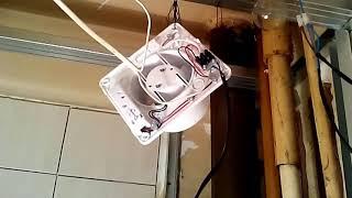 Как я вентилятор с таймером подключал.(Vents силента-мт)(Обзор на этот вентилятор смотри тут https://youtu.be/qz1tX9EiBUo., 2016-02-19T03:13:11.000Z)