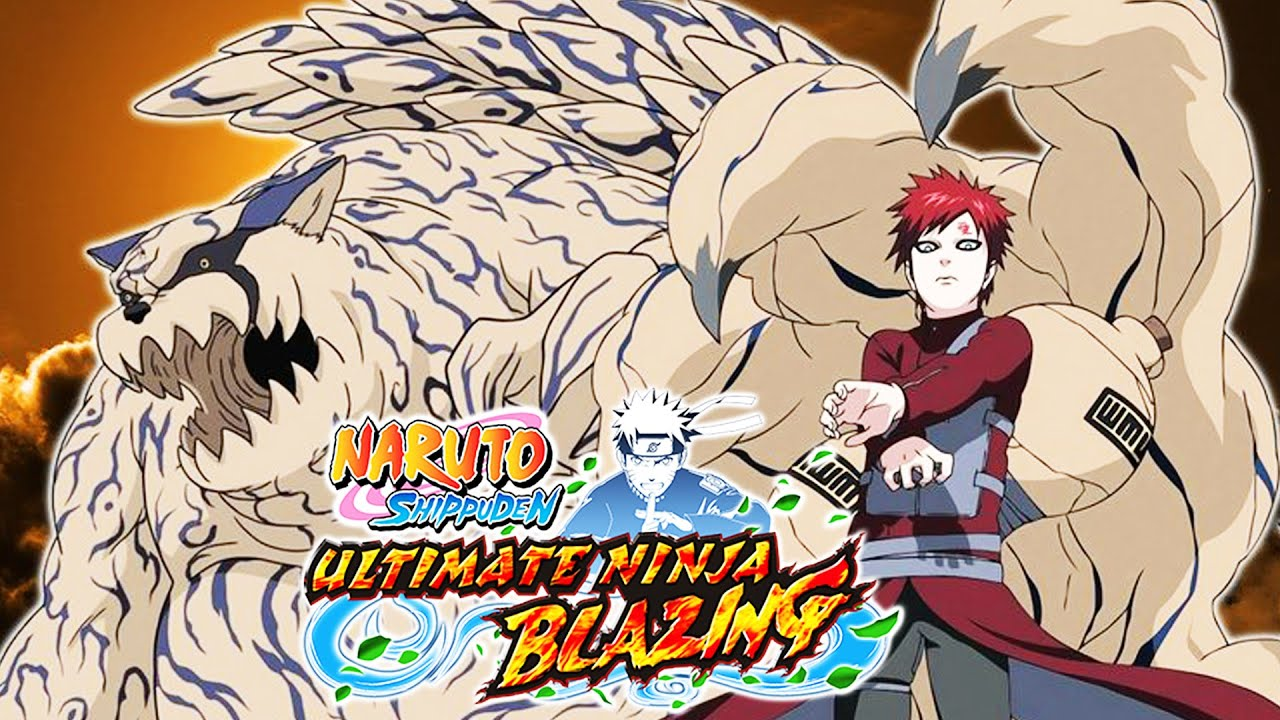 shippuden gaara naruto The tails one and
