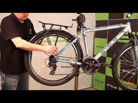 Cборка и настройка велосипеда - инструкция - видео