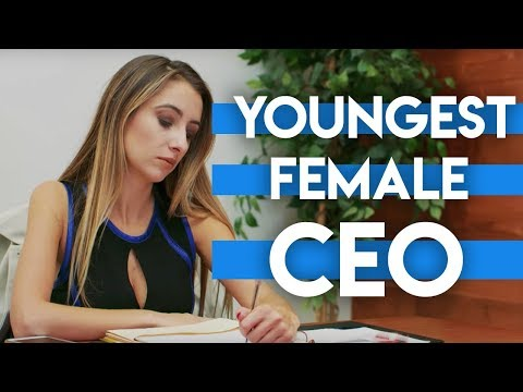 The Youngest Female CEO In History  Appland Episode 1  Lauren Francesca