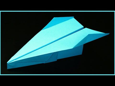 How to make a Paper Airplane: BEST Paper Planes in the World - Paper Airplanes fly far | Fenix