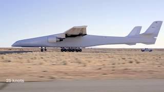 Самый большой в мире самолет Stratolaunch. Он все-таки полетел