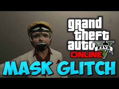 how to put on mask in gta online