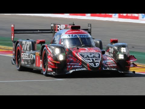 Oreca Rebellion R-13 LMP1 In Action! Great Sounds & Track Action!