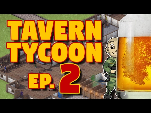 Tavern Tycoon - Ep. 2 - Wizard Training and Gymnasiums! - Let's Play Tavern Tycoon