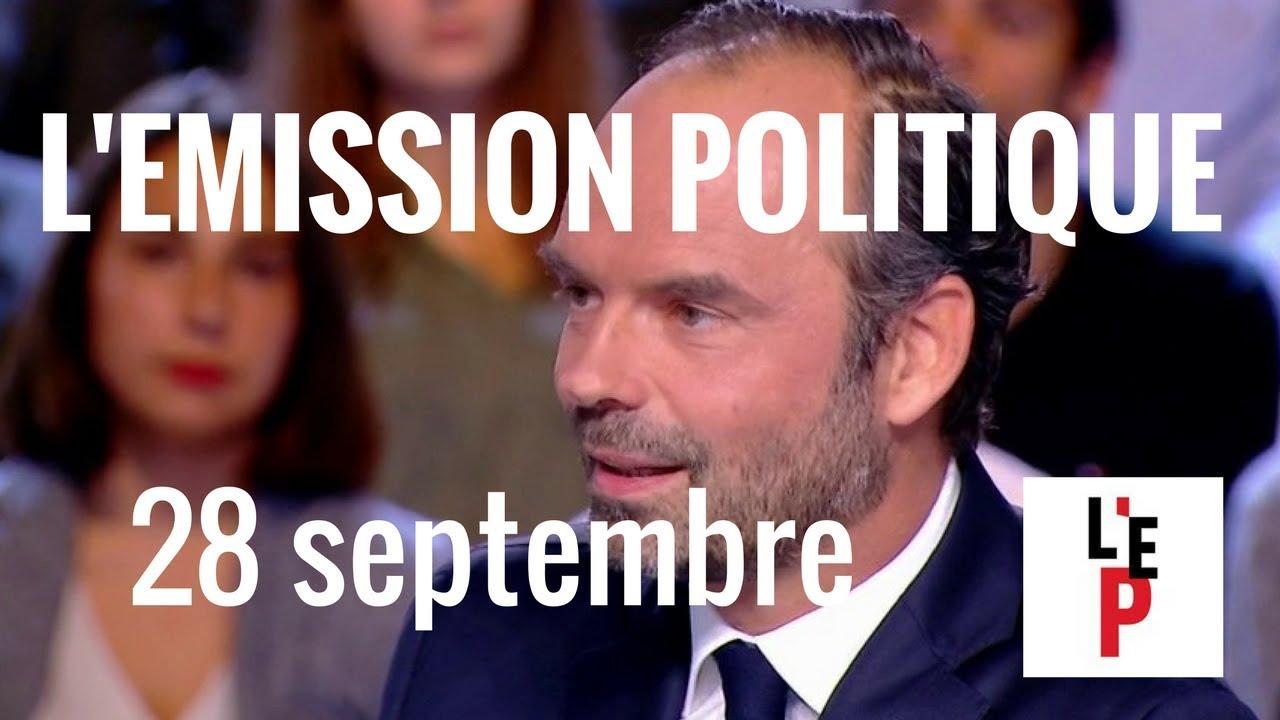 Edouard Philippe à propos des emplois aidés dans l'Emission politique (France 2)