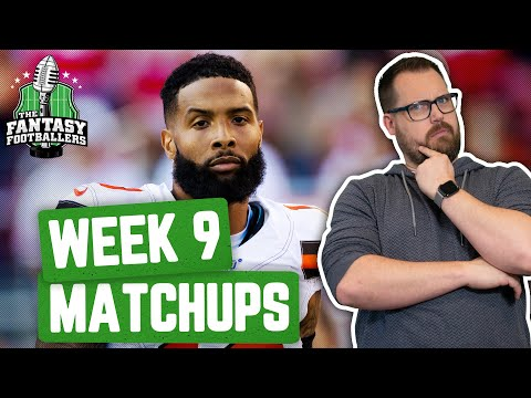 fantasy-football-2019---week-9-matchups-+-in-or-out,-the-fourthiest!---ep.-#809