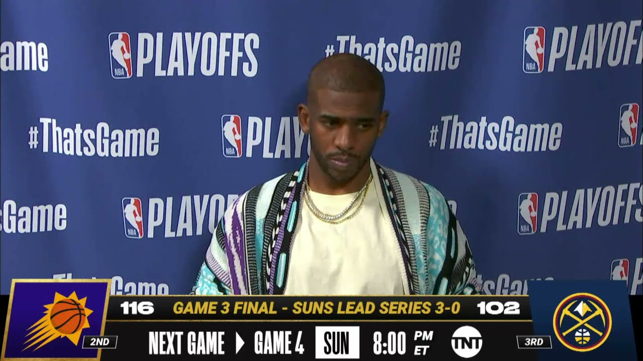 Download Chris Paul Game 3 Postgame Press Conference | #NBAPlayoffs