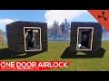 watch he video of Advanced building Ep 35 One Door Airlock | Rust