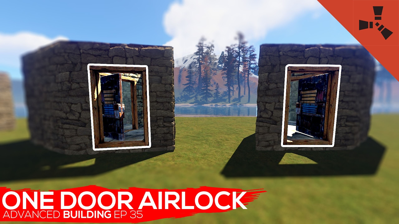rust how to make an airlock