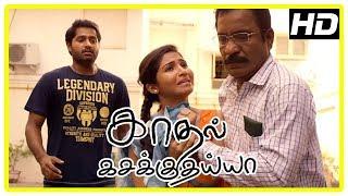 Kadhal Kasakuthaiya Movie Scenes | Venba's parent upset about Dhruvva | Kalpana