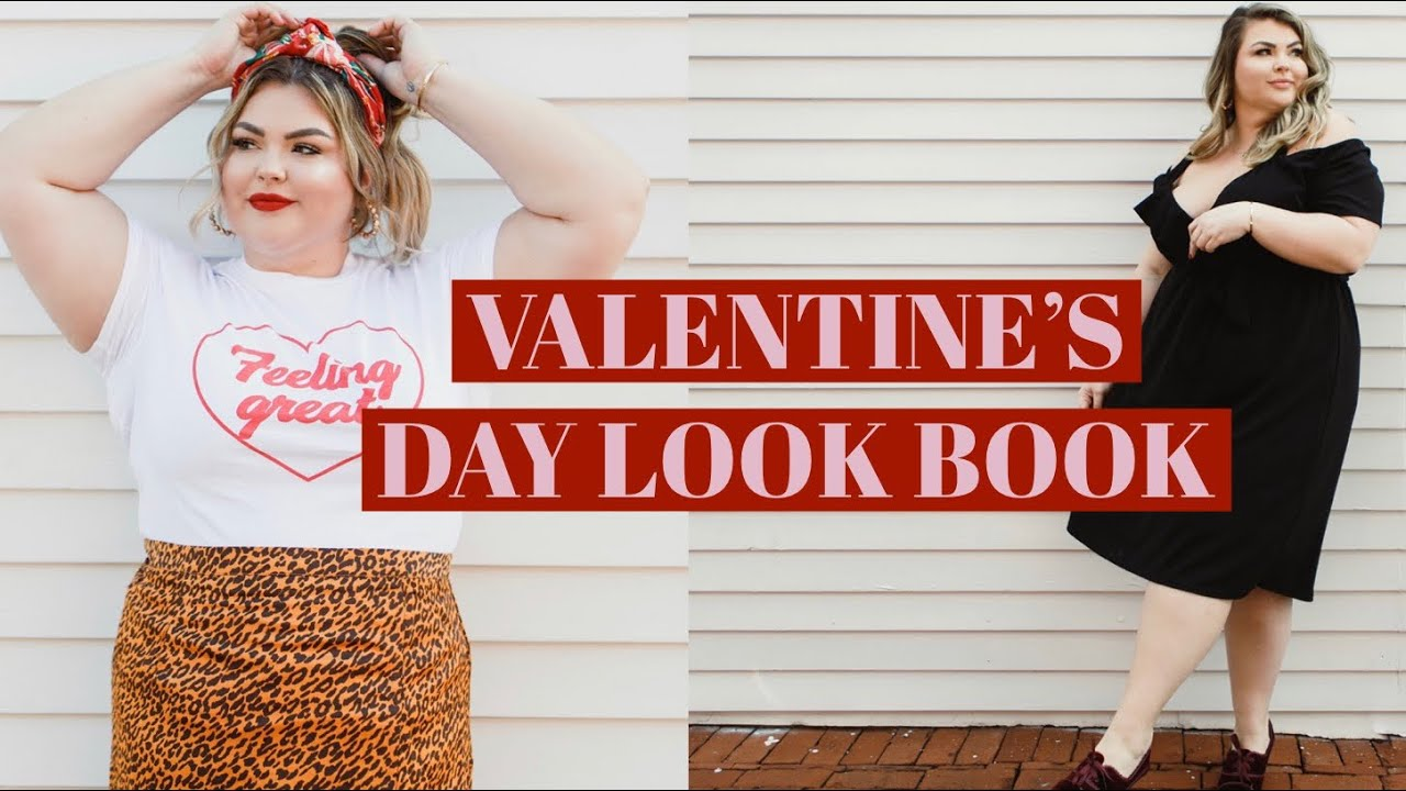 PLUS SIZE VALENTINE\'S DAY OUTFIT IDEAS - How To Be Trendy