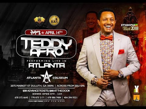 PART 2: Teddy Afro LIVE Atlanta USA 2018 Concert VIDEO | Teddy Afro Official