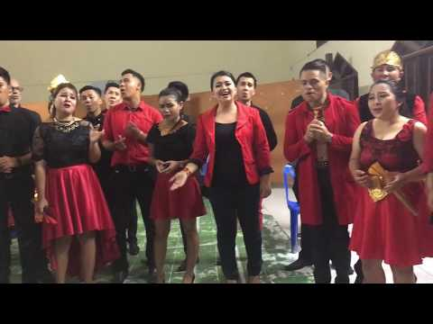 """MSUC Manado State University Choir """"From A Distance"""""""