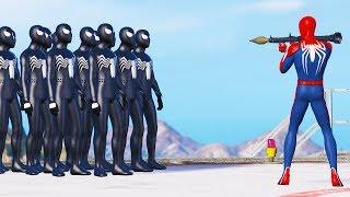 GTA 5 Water ragdolls  SPIDERMAN Jumper Falls Compilation ep 2 (Euphoria physics Funny Moments)