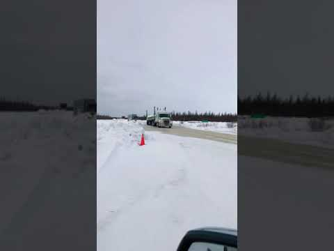 James Bay Winter Road, Debeers Convoy, Ice Road Truckers