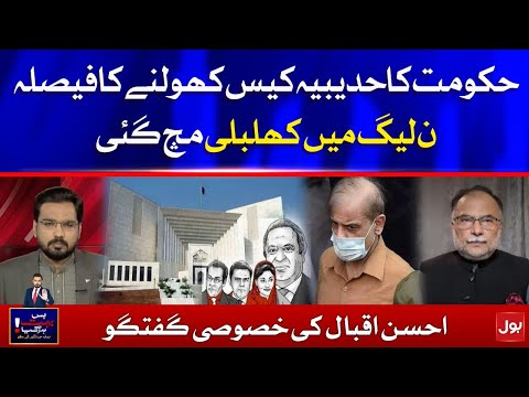 PMLN in Trouble - Hudaibiya Paper Mills case