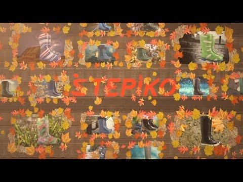 Женские стильные резиновые сапоги Demar  от  интернет магазина STEPIKO.COM
