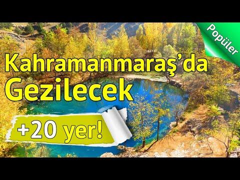 Kahramanmaraş'ta Mutlaka Görmeniz Gereken 20 Yer | gezilesiyer.com
