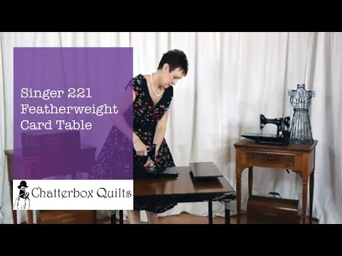 221 singer featherweight table dating