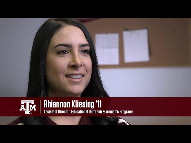 I Am Texas A&M Science - Rhiannon Kliesing '11 (Episode 28)