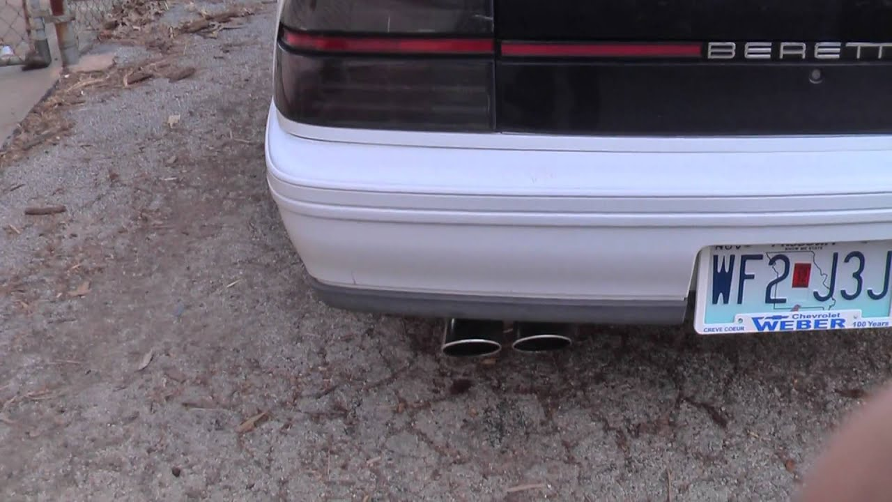 hight resolution of 2009 cadillac dts muffler on 1996 chevy beretta