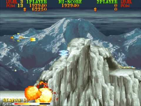 Carrier Air Wing Arcade 1990 Longplay